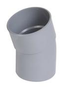 Coude PVC d'évacuation d'eau usée NICOLL mâle-femelle diam.75mm angle 20° coloris gris - Bouteille Propane 35kg - Gedimat.fr
