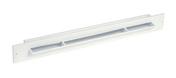 Grille entrée d'air auto-réglable coloris blanc larg.380mm haut.34mm - Grilles de ventilation - Chauffage & Traitement de l'air - GEDIMAT