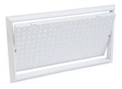Trappe de visite pour baignoire haut.445mm larg.245mm coloris blanc - Carrelage pour mur en faïence brillante rectifiée BLANCHE larg.30cm long.90cm coloris blanc - Gedimat.fr