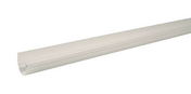 Gouttière PVC demi-ronde LG16B coloris blanc long.4m - Bloc-porte isolant gravé SILHOUETTE huis.73mm haut.2,04m larg.93cm gauche poussant - Gedimat.fr