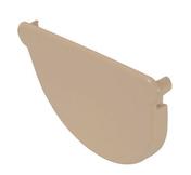 Fond de gouttière PVC de 16 polyvalent NICOLL FCN16S coloris sable - Bloc-porte coupe-feu EI30 (1/2h) avec serrure huisserie de 66x55mm haut.2,04m larg.73cm droit poussant - Gedimat.fr