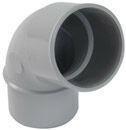 Coude PVC pour tube de descente de gouttière NICOLL diam.50mm angle 67°30 mâle femelle coloris gris - Hotte décorative murale WHIRLPOOL 60cm coloris blanc - Gedimat.fr