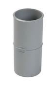 Manchon PVC femelle femelle pour tube de descente de gouttière diam.50mm coloris gris - Chaînage sismique Z4 section 8x8 cm 4HA12 long.3,55m - Gedimat.fr