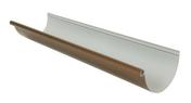 Gouttière PVC demi-ronde LG25C coloris cuivre long.4m - Doublage polyuréthane SIS REVE SI ép.100+10mm larg.1.20m long.2,60m - Gedimat.fr
