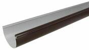 Gouttière PVC demi-ronde LG25M coloris marron long.4m - Poinçon pigne pout faîtage TERREAL coloris rouge flammé - Gedimat.fr