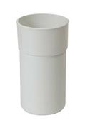Manchette PVC mâle femelle pour tube de descente de gouttière diam.100mm coloris blanc - Bande de chant ABS ép.1mm larg.23mm long.25m Prunier Karnten - Gedimat.fr