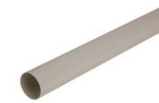 Tube de descente lisse PVC NICOLL pour eaux pluviales diam.50mm long.4m gris - Faîtière/Arêtier pureau variable à emboîtement coloris brun - Gedimat.fr