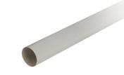 Tube de descente lisse PVC NICOLL pour eaux pluviales diam.80mm long.2m gris - Grille d'aération carrée NICOLL à volets mobiles sans moustiquaire pour gaine diam.100/110/125mm coloris blanc - Gedimat.fr