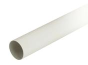 Tube de descente lisse PVC NICOLL pour eaux pluviales diam.100mm long.4m blanc - Porte d'entrée LORIA en bois exotique droite poussant haut.2,15m larg.90cm - Gedimat.fr