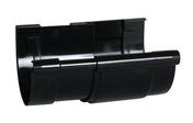 Jonction de dilatation pour gouttière PVC demi-ronde LG25 coloris noir - Bois Massif Abouté (BMA) Sapin/Epicéa non traité section 60x120 long.10m - Gedimat.fr