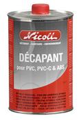 Décapant pour tube et raccords PVC NICOLL boîte de 1L - Carrelage pour sol en grès cérame émaillé HABITAT dim.60x60 coloris gris - Gedimat.fr