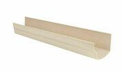 Gouttière PVC à coller NICOLL OVATION LG28S long.4m coloris sable - Poutrelle treillis RAID long.béton 10.30m pour portée libre 10.25m - Gedimat.fr
