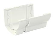 Jonction de dilatation pour gouttière PVC corniche moulurée NICOLL OVATION 28 JND28B coloris blanc - Planches de rives - Sous-faces - Couverture & Bardage - GEDIMAT