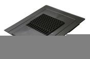 Chatière réversible NICOLL TACAT surface de ventilation 145cm² embase rectangulaire larg.330mm long.365mm coloris gris foncé - Accessoires de fixation - Couverture & Bardage - GEDIMAT