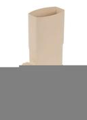 Récupérateur d'eau pluviale PVC diam.100mm coloris sable - Porte de garage basculante 121 métallique haut.2,125m larg.2,50m coloris blanc RAL9016 - Gedimat.fr