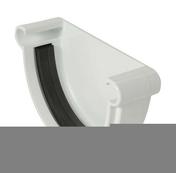 Fond de gouttière PVC à joint de 25 NICOLL FGJ25B coloris blanc - Faîtière d'about de départ pour faîtage à glissement TERREAL coloris vieux midi - Gedimat.fr