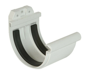 Jonction à joint pour gouttière PVC de 25 NICOLL JN25B coloris blanc - Bois Massif Abouté (BMA) Sapin/Epicéa traitement Classe 2 section 100x220 long.7,50m - Gedimat.fr