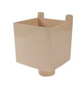 Boîte à eau PVC pour tube d'évacuation d'eau de gouttière à coller diam.100mm coloris sable - Faîtière ventilation TBF coloris vieilli occitan - Gedimat.fr