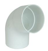 Coude PVC pour tube de descente de gouttière NICOLL diam.100mm angle 67°30 mâle femelle coloris blanc - Tuille à douille ROMANE-CANAL diam.130mm coloris rouge volcan - Gedimat.fr