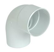 Coude PVC pour tube de descente de gouttière NICOLL diam.100mm angle 87°30 mâle femelle coloris blanc - Bande de chant ABS ép.1mm larg.23mm long.25m Prunier Karnten - Gedimat.fr