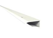 Prolifé de petite finition pour habillage de plaquette de débord de toit Nicoll Belriv long.4m coloris blanc - Raccord pour fenêtre VELUX sur ardoises EDL UK04 type 0000 pose traditionnelle - Gedimat.fr