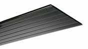 Bandeau profilé alvéolaire Nicoll Belriv classique long.4m coloris noir - Planches de rives - Sous-faces - Couverture & Bardage - GEDIMAT