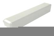 Angle extérieur universel pour bandeau alvéolaire NICOLL BELRIV Système coloris blanc - Planelle isolée long.80cm ép.7cm haut.16cm - Gedimat.fr