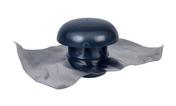Chapeau de ventilation avec collerette d'étanchéité sans moustiquaire NICOLL pour tuyau PVC diam.140mm coloris ardoise - Accessoires de fixation - Couverture & Bardage - GEDIMAT