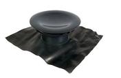 Châpeau de sortie aéraulique sur toiture diam.160mm coloris gris ardoise - Extracteurs - Aérateurs - Chauffage & Traitement de l'air - GEDIMAT