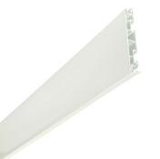 Bandeau alvéolaire NICOLL BELRIV Système haut.17cm long.4m coloris blanc - Rive individuelle gauche à recouvrement PROVINCIALE/STANDARD 14 coloris rouge - Gedimat.fr