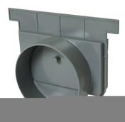 Fond/naissance pour caniveau PVC NICOLL NAX188 gamme Connecto larg.200mm sortie diam.125mm coloris gris clair - Enduit de parement traditionnel PARDECO TYROLIEN sac de 25kg coloris J35 - Gedimat.fr