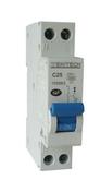 Disjoncteur électrique modulaire ZENITECH unipolaire + neutre 220V intensité 25A - Modulaires - Boîtes - Electricité & Eclairage - GEDIMAT