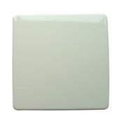 Plaque de fermeture série VEGA pour boîte de dérivation dim.75x75mm coloris blanc - Interrupteurs - Prises - Electricité & Eclairage - GEDIMAT
