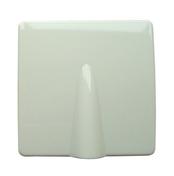 Sortie de câble série VEGA pour boîte de dérivation dim.75x75mm coloris blanc - Mécanisme va et vient blanc CASUAL - Gedimat.fr