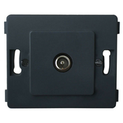 Prise télévision série VENUS non monté mâle diam.9,52mm coloris noir - Interrupteurs - Prises - Electricité & Eclairage - GEDIMAT