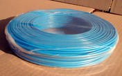 Câble électrique rigide unifilaire H07VU diam.1,5mm² coloris bleu en couronne de 25m - Câble électrique rigide unifilaire H07VU diam.2,5mm² coloris rouge en couronne de 25m - Gedimat.fr