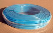 Câble électrique rigide unifilaire H07VU diam.2,5mm² coloris bleu en couronne de 25m - Bande de chant pré-encollée larg.4,4cm long.5m ép.3mm décor alu - Gedimat.fr