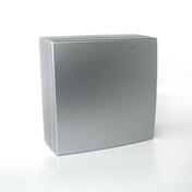 Boîte de dérivation électrique série BEL'VUE pour pose en saillie coloris chrome - Modulaires - Boîtes - Electricité & Eclairage - GEDIMAT