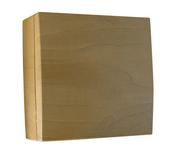 Boîte de dérivation électrique série BEL'VUE pour pose en saillie coloris hêtre - Modulaires - Boîtes - Electricité & Eclairage - GEDIMAT