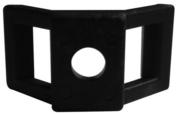 Embase à visser pour collier de câblage coloris noir en sachet de 20 pièces - Grès cerame coloré dans la masse ANVERSA, groupe 4, 60x60 cm, épaisseur 8,5 mm, boîte de 1,80 m², HAV 1 beige - Gedimat.fr