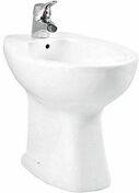Bidet UNO porcelaine haut.39,5cm larg.54.5cm long.36.5cm blanc - Bardelis ''S'' droit coloris Saintonge - Gedimat.fr