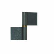 Paumelle à souder sans lame Long.80mm brut - Quincaillerie d'ameublement - Menuiserie & Aménagement - GEDIMAT
