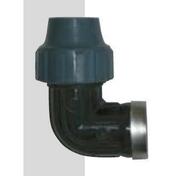 Coude à compression femelle femelle Techno diam.32mm filetage diam.26x34mm en vrac 1 pièce - Tuyaux d'arrosage - Plein air & Loisirs - GEDIMAT