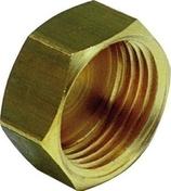Bouchon femelle en laiton diam.20x27mm - Pompes et Accessoires - Aménagements extérieurs - GEDIMAT
