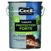 Lasure protection forte LX 545+ teck  - pot 5l - Traitements curatifs et préventifs bois - Peinture & Droguerie - GEDIMAT