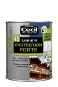 Lasure bois protection forte indice 45 LX545 pot de 1L satinée chêne clair - Porte seule PORTALIT haut.2,04m larg.73cm anthracite - Gedimat.fr