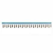 Peigne de raccordement phase gris + neutre bleu - Modulaires - Boîtes - Electricité & Eclairage - GEDIMAT