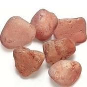 Galets rose vérone granulométrie 25/40mm sac de 25kg - Sables - Graviers - Galets décoratifs - Revêtement Sols & Murs - GEDIMAT