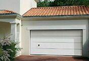 Porte de garage sectionnelle isolante sans nervure �p.45mm haut.2,125m larg.2,375m - Portes de garage - Menuiserie & Am�nagement - GEDIMAT