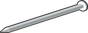Clou galvanisé 200mm pour béton cellulaire - Clé à pipe débouchée acier chrome-vanadium 6 pans 10mm - Gedimat.fr